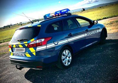 Véhicule Gendarmerie 2