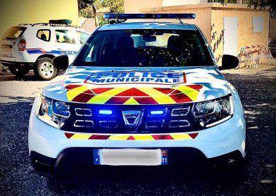 Véhicule Police Municipale Leucate