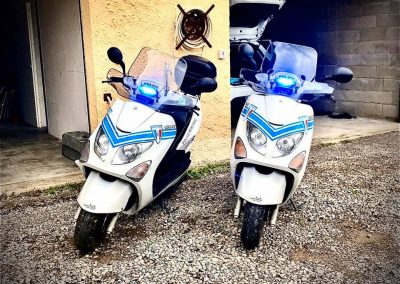 Scooter Police Leucate